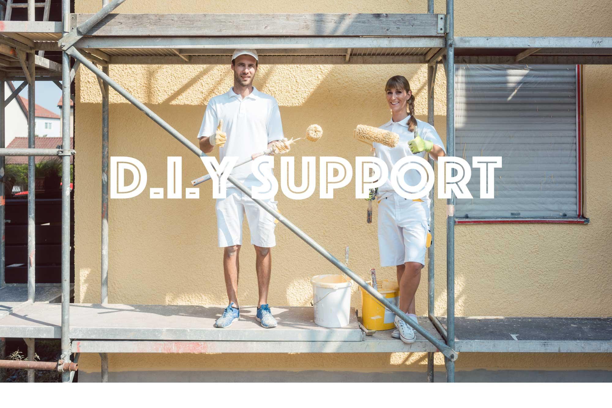 diy外壁塗装サポート